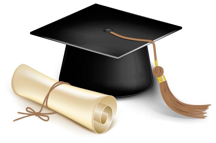 cappello-laurea-pergamena-graduation-cap-diploma